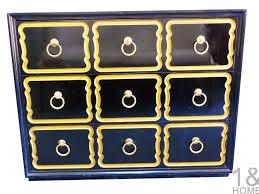 modern mid century danish vintage furniture shop used antique dorothy draper espana heritage henredon black dresser chest