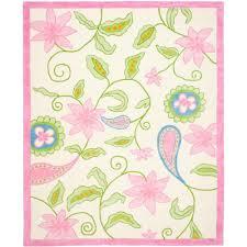 Kids Pink Rugs by Nuloom Herringbone Cotton Grey 9 Ft X 12 Ft Area Rug Hmco4c 9012