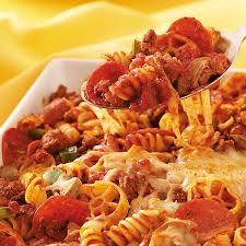pasta recepies pepperoni pasta recipe taste of home