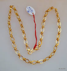 chain necklace design images Traditional design 20kt gold chain necklace by tribalsilver on zibbet jpg