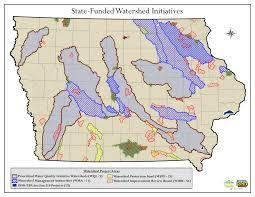 Iowa State Campus Map Watersheds Nrcs Iowa