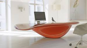 Big Office Desk Home Interior Design Astonishing Futuristic Bright Office Desk