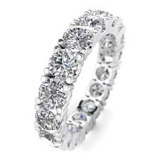 engagement rings 100 5 00ctw heart eternity diamond engagement ring shiree
