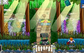 club penguin igloo ideas jjoeyxx u0027s igloo 3 spring garden