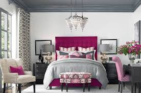 pink and grey bedroom ideas 3 decors you can realize for chic and