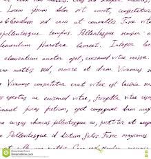 hand written letter seamless text lorem ipsum repeating pattern