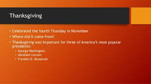 meaning of american thanksgiving