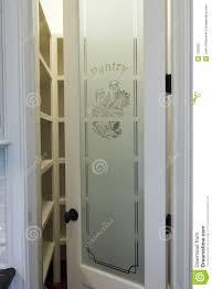 pantry door glass pantry door stock image image 1626351