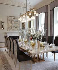 Lighting For Dining Room Table Interior Design Design Elements Room And Contemporary Interior