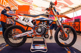 red bull motocross race jeffrey herling u0027s red bull ktm 250 sx f vital mx pit bits 2016