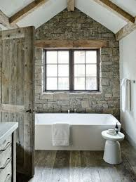rustic master bathroom ideas minimalist wall color combined mosaic