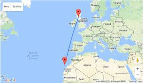 Algeria On Map From Glasgow To Sunny Gran Canaria For Only 34