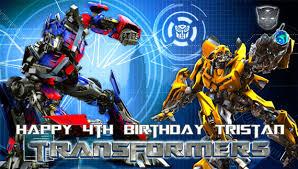 optimus prime birthday transformers optimus prime bumble bee happy birthday