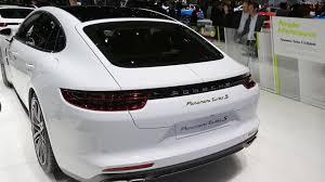porsche panamera turbo s e hybrid is a proper flagship in geneva