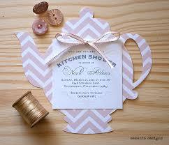 kitchen tea invitation ideas designs memento die cut blush convite bule de rosa invitations