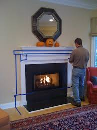 fireplace makeover bossy color annie elliott interior design