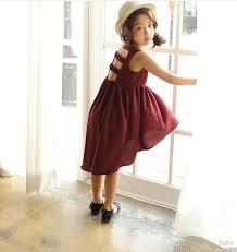 2017 princess dress baby kids summer clothing girls sleeveless