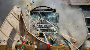 volvo truck video giving a four year old a remote controlled volvo fmx is very bad