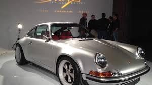 911 porsche restoration 964 porsche 911 remade by singer vehicle design