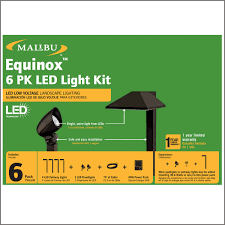 Malibu Landscape Light by Malibu Equinox 6 Pack Led Light Kit Led Low Voltage Landscape