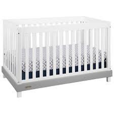 graco maddox 3 in 1 convertible crib white grey baby cribs