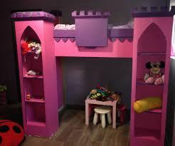 girls castle loft bed kids