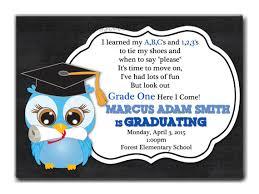 preschool graduation invitations preschool graduation invitation sles i on prek preschool or