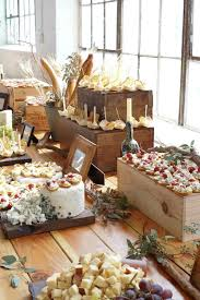 rustic buffet table setting google search buffet pinterest