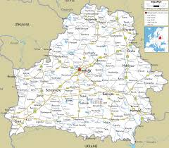 map of belarus detailed clear large road map of belarus ezilon maps