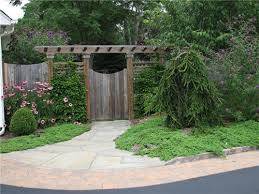 Fence Landscaping Ideas Corner House Fence Ideas