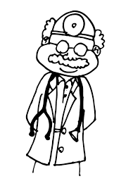 coloring page doctor img 11775