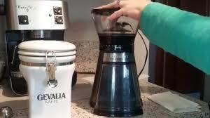 Cuisinart Dbm 8 Coffee Grinder Cuisinart Cbm 18 Conical Burr Grinder Review Youtube