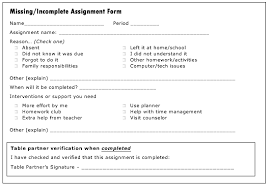 Assignment Form Issaquah Connect