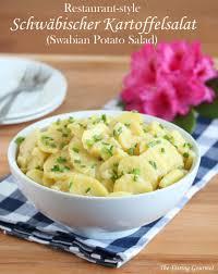 restaurant style schwäbischer kartoffelsalat swabian potato salad