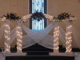 wedding backdrop ideas with columns wedding pillars decorations wedding corners
