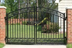 iron gate welding aluminum gates gate and