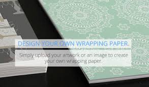 design your own wrapping paper print majic personalised wrapping paper photo