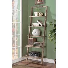 wrought studio simonetti ladder bookcase u0026 reviews wayfair