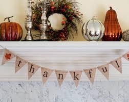 burlap thanksgiving banner thanksgiving banner etsy