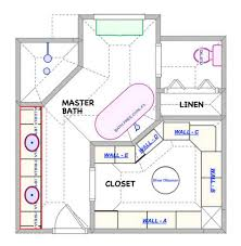 master bathroom floor plan uncategorized master bath closet floor plan modern inside elegant