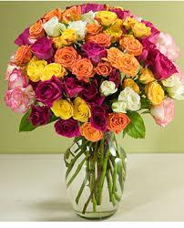 Crystal Flower Vases Of Roses Mother U0027s Day Flowers In Crystal Vase Png