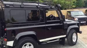 land rover defender black land rover defender 90 td xs in black for sale youtube