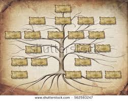 family tree illustration your design stock illustration 562593247
