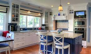 blue kitchen ideas blue kitchen ideas cloudninja co