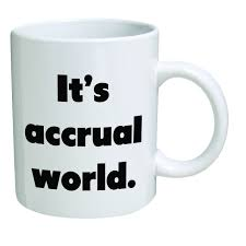 it u0027s accrual world funny mug great gifts for occupations and