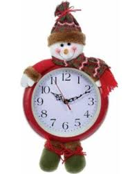 battery powered hanging l deal alert kurt adler 17 5 in battery operated hanging snowman clock