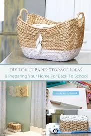 bathrooms design braided basket toilet paper holder rustic
