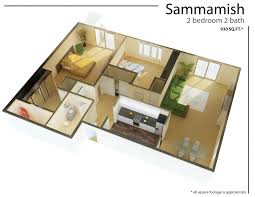 incredible one room floor plan botilight for single bedroom with