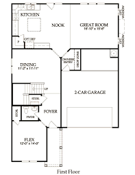 heritage home plan huntersville nc pulte homes home