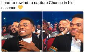 Bet Awards Meme - chance the rapper bet awards reaction know your meme